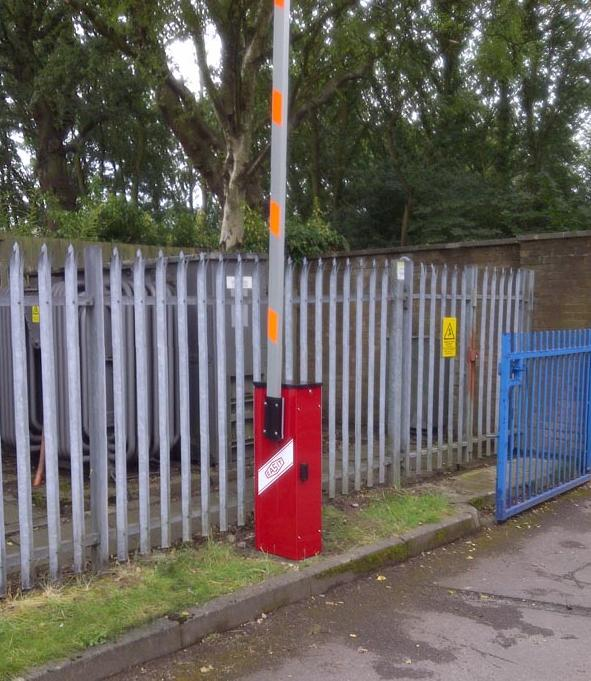 This barrier is a Casit 6M installed 2004