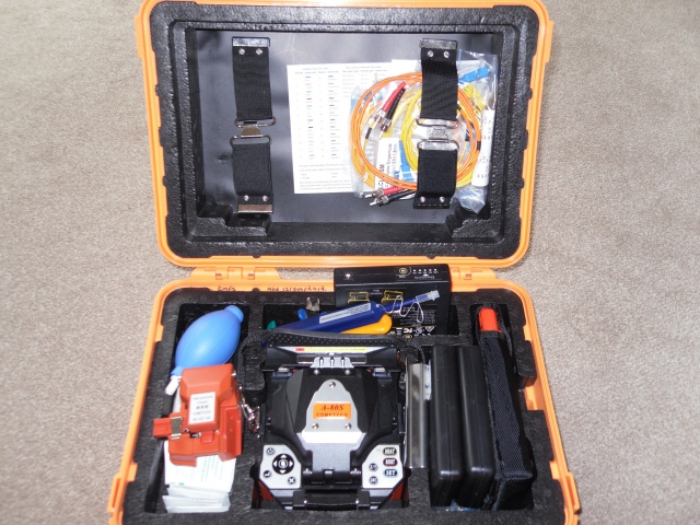 Our Fibre Optic Fusion Splicing Machine