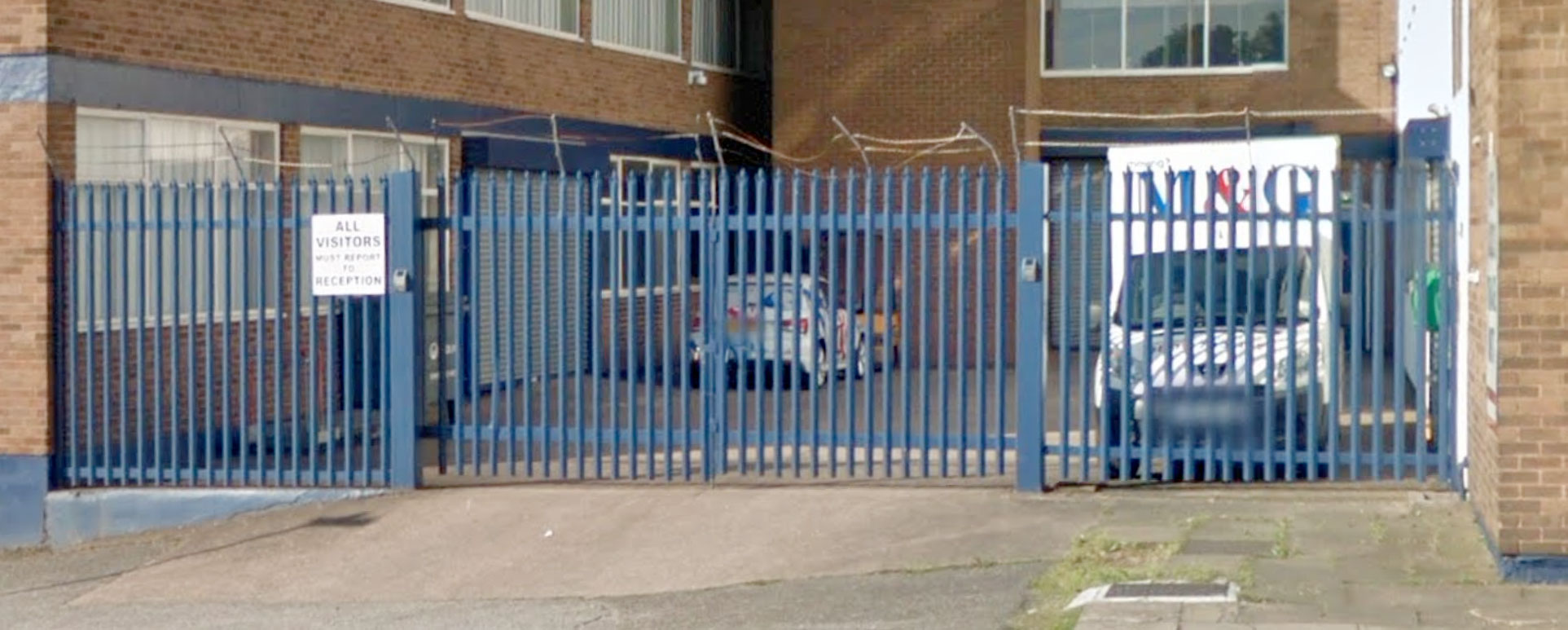 A customer phoned us and asked if we could update the razerwire on top of there gates and fencing panels.